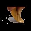 Kép 1/2 - Extra rugalmas simító rakli  - 10cm (Arany)