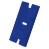 Kép 3/4 - Mini Kaparó + 25db Cserélhető polikarbonát penge műanyag kaparó szerszámhoz - Kék