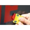 Kép 4/4 - Mini Kaparó + 25db Cserélhető műanyag penge műanyag kaparó szerszámhoz - Narancs