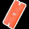 Kép 3/4 - Mini Kaparó + 25db Cserélhető műanyag penge műanyag kaparó szerszámhoz - Narancs