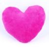 Kép 2/2 - Szublimációs plüss szív párna 28x28 cm - pink