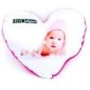 Kép 1/2 - Szublimációs plüss szív párna 28x28 cm - pink