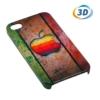 Kép 1/2 - 3D Szublimációs iPhone 4 telefontok