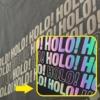 Kép 1/3 - SD Reflective Hologram vágható vasalható fólia