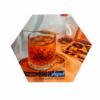 Kép 1/3 - Szublimációs prémium parafa alátét - hexagon