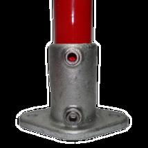 Ovális talp elem Ø48mm