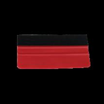 Simító rakli filc bevonattal  - 15cm (Piros)