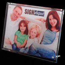 Szublimációs üveg asztali kép 390x290x10mm