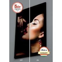 Extra slim kétoldalas LED plakáttartó display