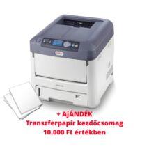 OKI Pro7411WT Fehér toneres A4 lednyomtató + ajándék transzferpapír kezdőcsomag