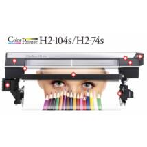 OKI ColorPainter H2-104s/H2-74s Eco-solvent nyomtató