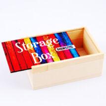 Szublimációs fa tároló doboz - nagy