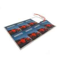Szublimációs autós légfrissítő (8db/oldal)