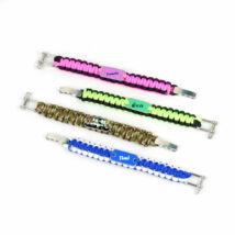Szublimációs fonott karkötő / kék, zöld, pink, camouflage /