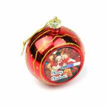 Szublimációs karácsonyfadísz / gömb /
