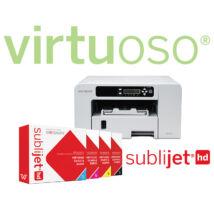 Sawgrass Virtuoso SG400 A4 szublimációs nyomtató + SubliJet HD festékszett