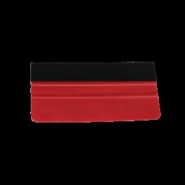 Simító rakli filc bevonattal  - 10cm (Piros)