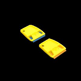Mini Kaparó + 25db Cserélhető polikarbonát penge műanyag kaparó szerszámhoz - Kék