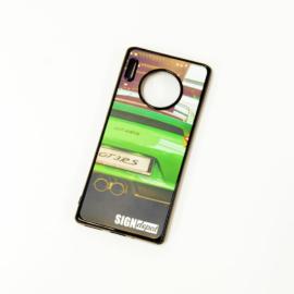 Szublimációs szilikon flexi Huawei Mate 30 telefontok