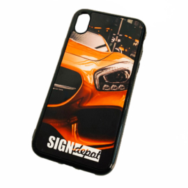 Szublimációs szilikon flexi iPhone XR telefontok
