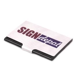 Szublimációs névjegykártya tartó