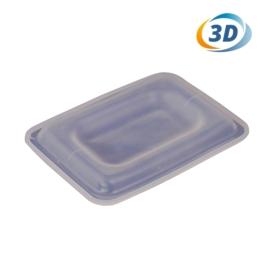 3D mini hőprés szilikon lap (telefonhoz)