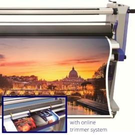 SD 1600HCD+TRIM Hideg-Meleg laminálógép vágópengével