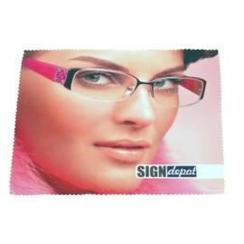 Szublimációs szemüveg törlőkendő
