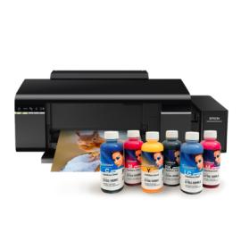 Epson L805 tintasugaras nyomtató + 6x100ml InkTec SubliNova szublimációs festék