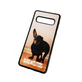 Szublimációs szilikon flexi Samsung S10 telefontok