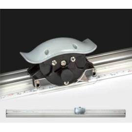 100cm vonalzós trimmer rugós vágófejjel & 90-120 fokos hab/karton vágó