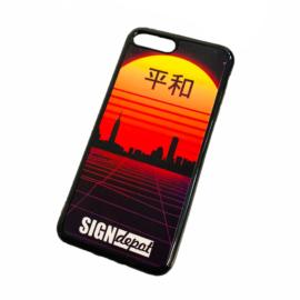 Szublimációs szilikon flexi iPhone 7/8 Plus telefontok