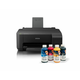 Epson L3150 tintasugaras nyomtató szkennerrel + 4x100ml InkTec SubliNova szublimációs festék