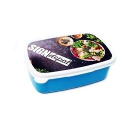 Szublimációs gyerek uzsonnás doboz kék