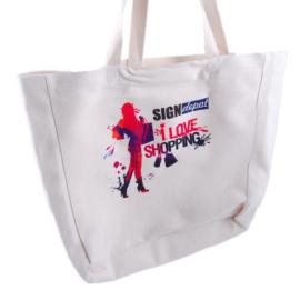 Szublimációs vászon bevásárlótáska