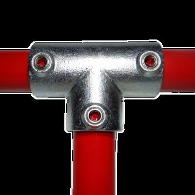 Hosszú T elem Ø48mm