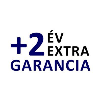+2 év extra garancia