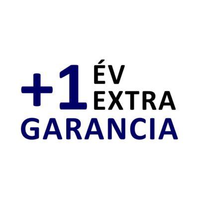 +1 év extra garancia
