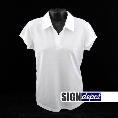 Női inggalléros póló