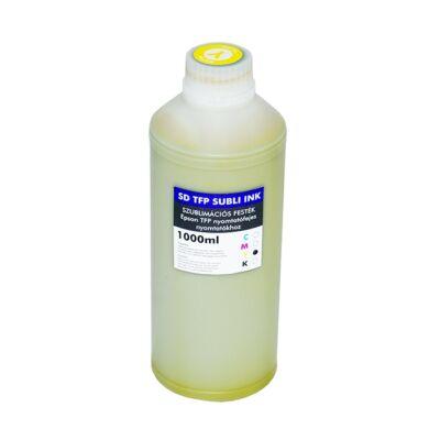 SD TFP szublimációs festék 1000ml Yellow