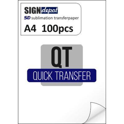 SD-QT A4 szublimációs transzferpapír 100 db