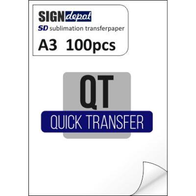 SD-QT A3 szublimációs transzferpapír 100 db