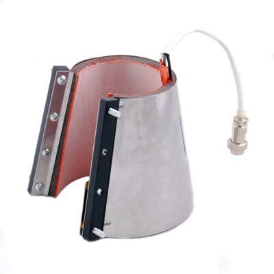 SD-BASIC V alakú 26cm-es fűtőpalást Multifunkciós bögrehőpréshez