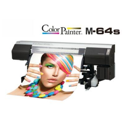OKI ColorPainter M-64s Eco-solvent nyomtató