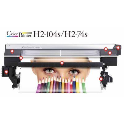OKI ColorPainter H2-104s/H2-74s Eco-solvent nyomtató
