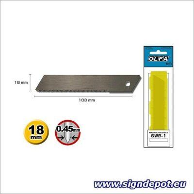 Olfa SWB-1 penge 18mm