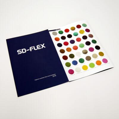 SD FLEX vágható-vasalható fólia minta