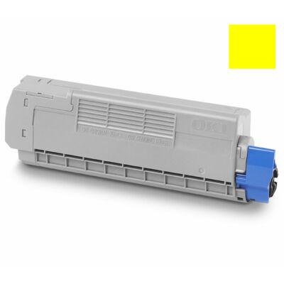 OKI C712 Toner sárga 46507613