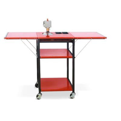 Speed Queen állvány kihajtható oldalasztalokkal