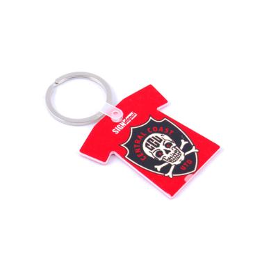 Szublimációs HPP kulcstartó - Póló alakú